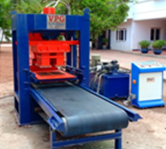 8 Brick Model Fly-ash Brick Making Machine