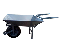 Single Wheel-Wheel Barrow