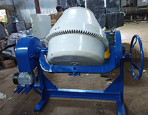 750SM Mixer Machine Bed Type