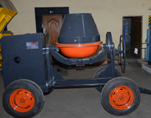 535 D Concrete Mixer Machine